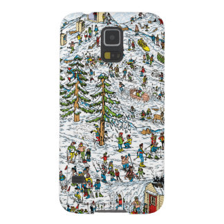 Where's Waldo Ski Slopes Cases For Galaxy S5