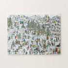 Where's Waldo Ski Slopes Jigsaw Puzzle