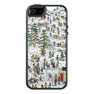 Where's Waldo Ski Slopes OtterBox iPhone 5/5s/SE Case