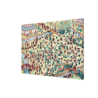 Where's Waldo | Trouble in Old Japan Canvas Print