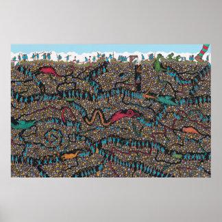 Where's Waldo | Underground Hunters Poster