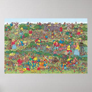 Where's Waldo | Unfriendly Giants Poster