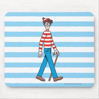 Where's Waldo Walking Stick Mouse Pads