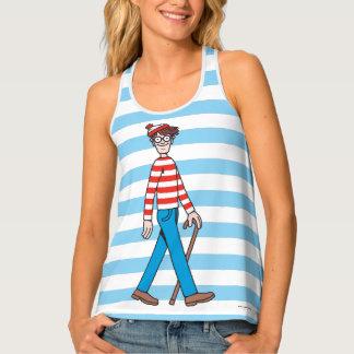 Where's Waldo Walking Stick Tank Top