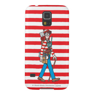 Where's Waldo with all his Equipment Galaxy S5 Covers