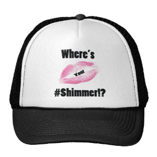 """Where's Your Shimmer"" Collection Hat"