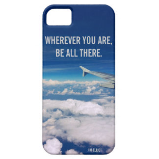 Wherever you are - Sky and airplane iPhone 5 Covers