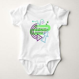 Wherever you go baby bodysuit