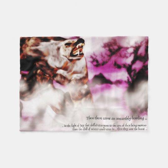 Wherewolf Fleece Blanket