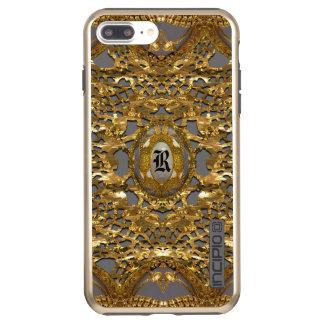 Whesters Pretty Elegant Monogram Incipio DualPro Shine iPhone 8 Plus/7 Plus Case