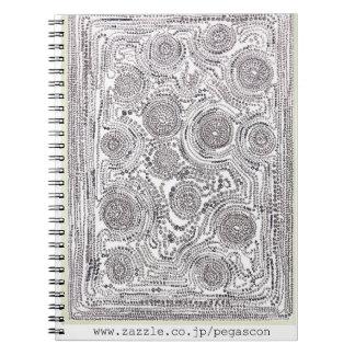 """""""Whether wheel tsu 14"""" note Spiral Notebook"""