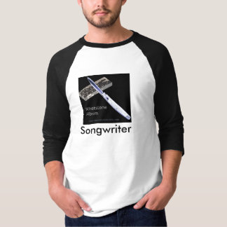 Whetstone Album Songwriter - Baseball style T-Shirt