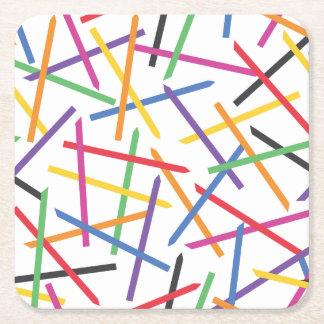 Which Boba Straw Square Paper Coaster