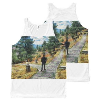 Which direction to take All-Over-Print tank top