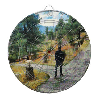 Which direction to take dartboard