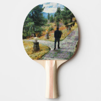Which direction to take ping pong paddle