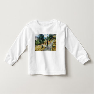 Which direction to take toddler t-shirt