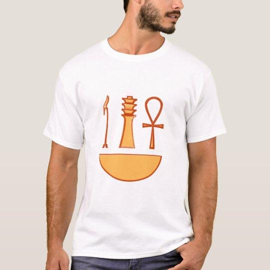 Which Djed Anch symbol triad T-Shirt