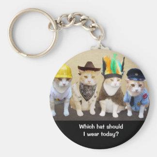 Which Hat? Keychain
