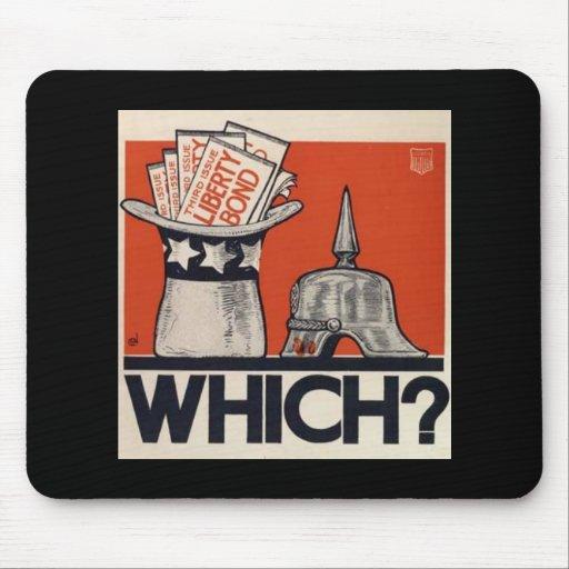 Which? Liberty Bond WW1 Mousepads