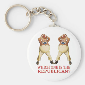WHICH ONE IS THE REPUBLICAN? KEYCHAIN
