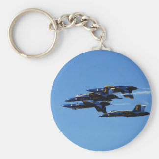 Which Way to Up? Blue Angels Customizable Keychain