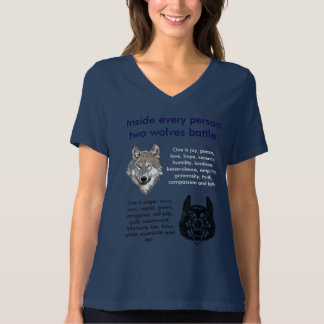 Which Wolf Will You Feed? T-Shirt