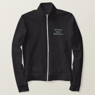 Whidbey Island Washington Embroidered Jacket