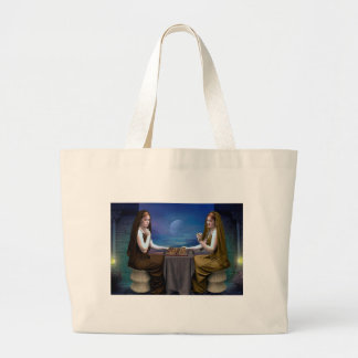 WHILST THE COUNTRY BLEEDS LARGE TOTE BAG
