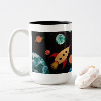 Whimisical Space Mug