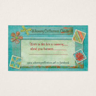 Whimsey Collectives For Web Business Business Card