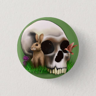 Whimseyskull 1 Inch Round Button