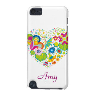 Whimsical Abstract Heart iPod Touch Case