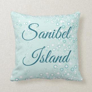 Whimsical and Adorable Seahorse Artwork Throw Pillow