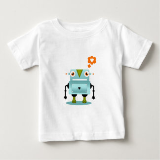 Whimsical and Artistic Robot Love Kids Shirt