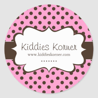 Whimsical and Cute Polk a Dot Stickers