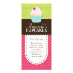 Whimsical and Fun Cupcake Rack Card