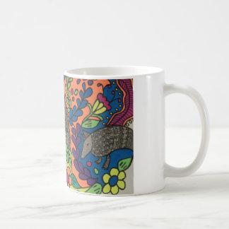 Whimsical Armadillos Mug