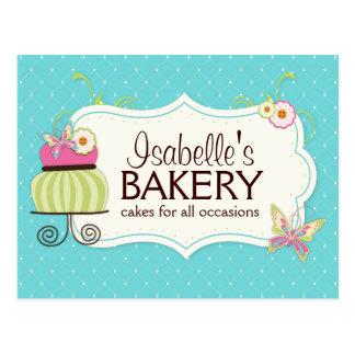 Whimsical Bakery Postcard Flyer