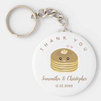 Whimsical Better Together Wedding Thank You Favor Keychain