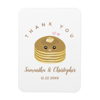 Whimsical Better Together Wedding Thank You Favor Magnet