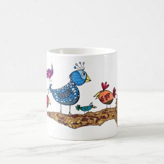 Whimsical Birds Mug