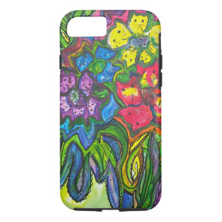 Whimsical Bouquet of Kitties iPhone 8/7 Case