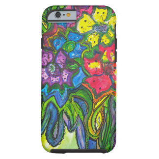 Whimsical Bouquet of Kitties Tough iPhone 6 Case
