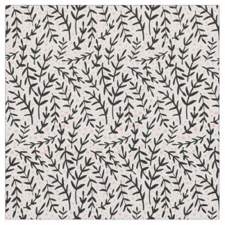 Whimsical branches fabric