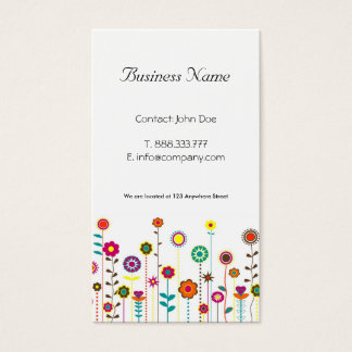Whimsical Business Cards