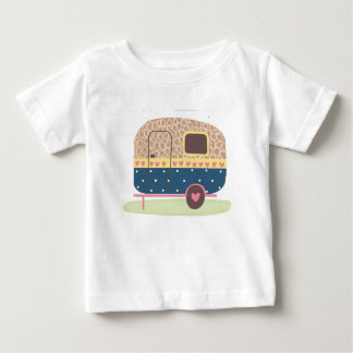 Whimsical Camp Trailer Baby T-Shirt