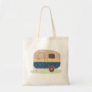 Whimsical Camp Trailer Tote Bag