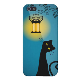 Whimsical Cat i iPhone 5/5S Cover
