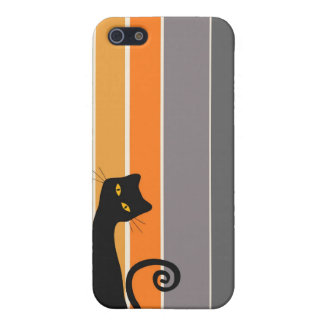 Whimsical Cat iPhone Case iPhone 5 Cover